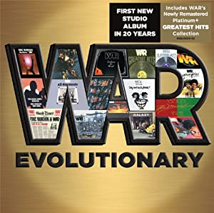 Evolutionary- First New WAR Album in 20 Years includes Greatest Hits