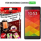 For Micromax Canvas 6 PRO - TGK PREMIUM 9H Hardness ShatterProof Toughened Tempered Glass Screen Protector