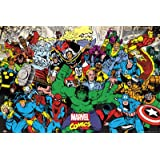 GB eye 61 x 91.5 cm Marvel Characters Maxi Poster, Assorted