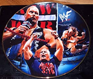 "WWF/WWE ""Stone Cold Steve Austin"" Collector Plate"