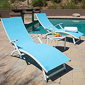 Sol Sling Chaise Lounge Set Childrens Outdoor Furniture Pati