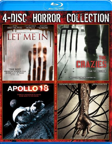 Blu-ray : 4-Disc Horror Collection (Boxed Set, 4 Disc)