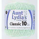 Coats Crochet Classic Crochet Thread, 10, Mint Green (Color: Mint Green, Tamaño: 10)