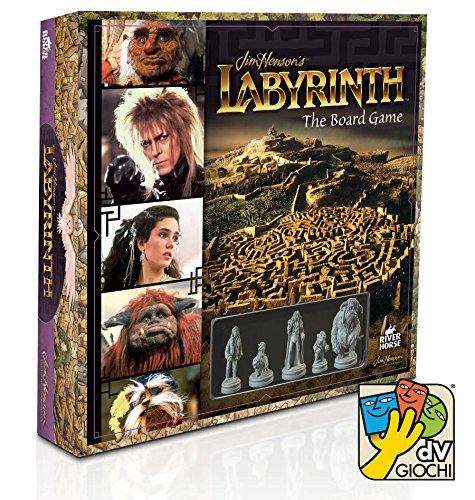 DV Giochi DVG9331 - Labyrinth, Gioco da Tavolo del Film Fantasy di Jim Henson,  Edizione Italiana