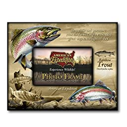 American Expedition Rainbow Trout Canvas Photo Frame