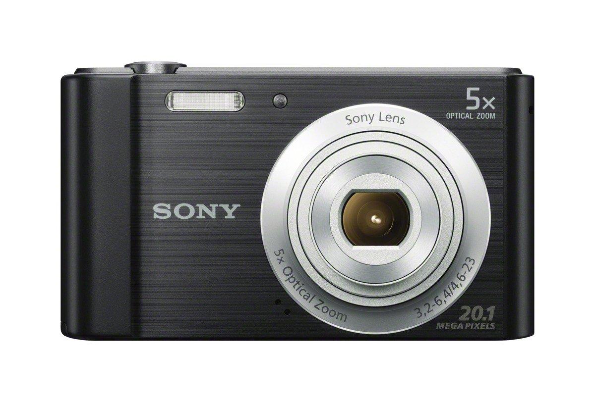 Sony W800/B 20 MP Digital Camera (Black)