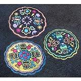 ALEX Toys - Active Play, Garden Sidewalk Mandala with (6) Jumbo Chalks, A315-G