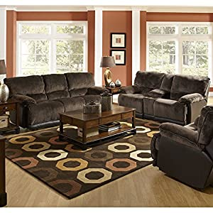 Amazon Furniture Living Room Escalade Reclining Living Room Set Living