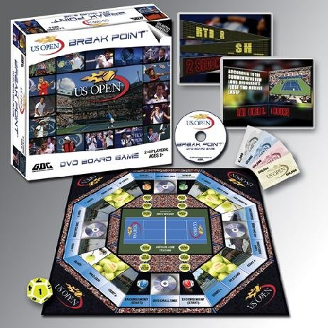 GDC - GameDevCo Ltd US Open DVD Board Game