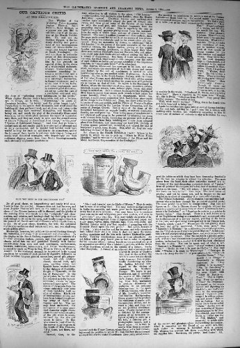 old-original-antique-victorian-print-1884-captious-critic-healtheries-men-565g275