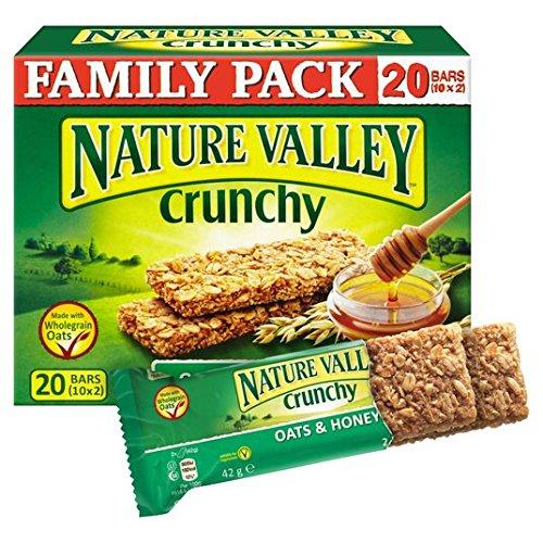 paquete-valle-de-la-naturaleza-crujiente-barras-de-granola-avena-y-miel-familia-10-x-42g