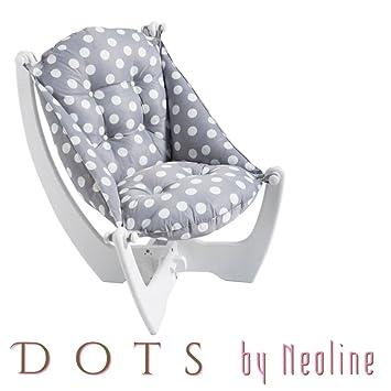 Gris puntos–neoline sillón reclinable sofá Otomano