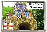 The little chapel guernsey Gift Souvenir Fridge Magnet
