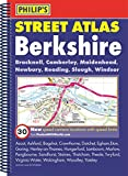 Philip's Street Atlas Berkshire: Spiral Edition