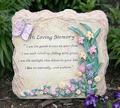 Memorial garden rock in loving memory stone memorial stones memorial stones for loved ones for Garden memorials for loved ones