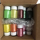 22 Colors Mica Powder Pigments for Resin, Jewelry, Artist Colorant, Craft Projects, Nail Art (22 Colors (0.53 oz Each))