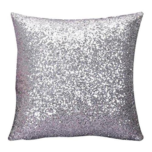 Sunnywill-Solid-Color-Glitter-Pailletten-Throw-Kissen-Fall-Cafe-Home-Decor-Kissenhllen-40cm40cm-Silber