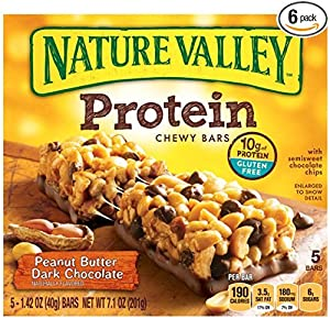 Nature Valley Protein Bars, 5 Count Box (Pack of 4)