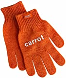 Fabrikators Skrub'a Glove, Carrot, 1-Pair