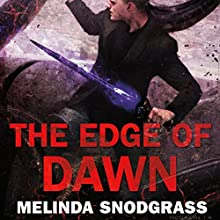 The Edge of Dawn (       UNABRIDGED) by Melinda Snodgrass Narrated by Roger Wayne