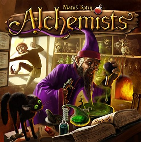 Alchemists Board Game twister family board game that ties you up in knots