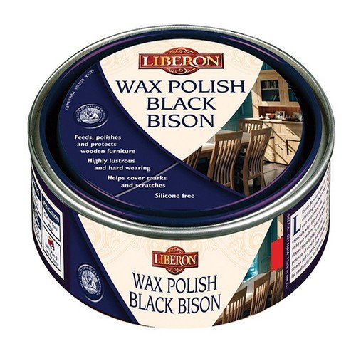 Liberon BBPWCL150 Wax Polish Black Bison Clear 150ml