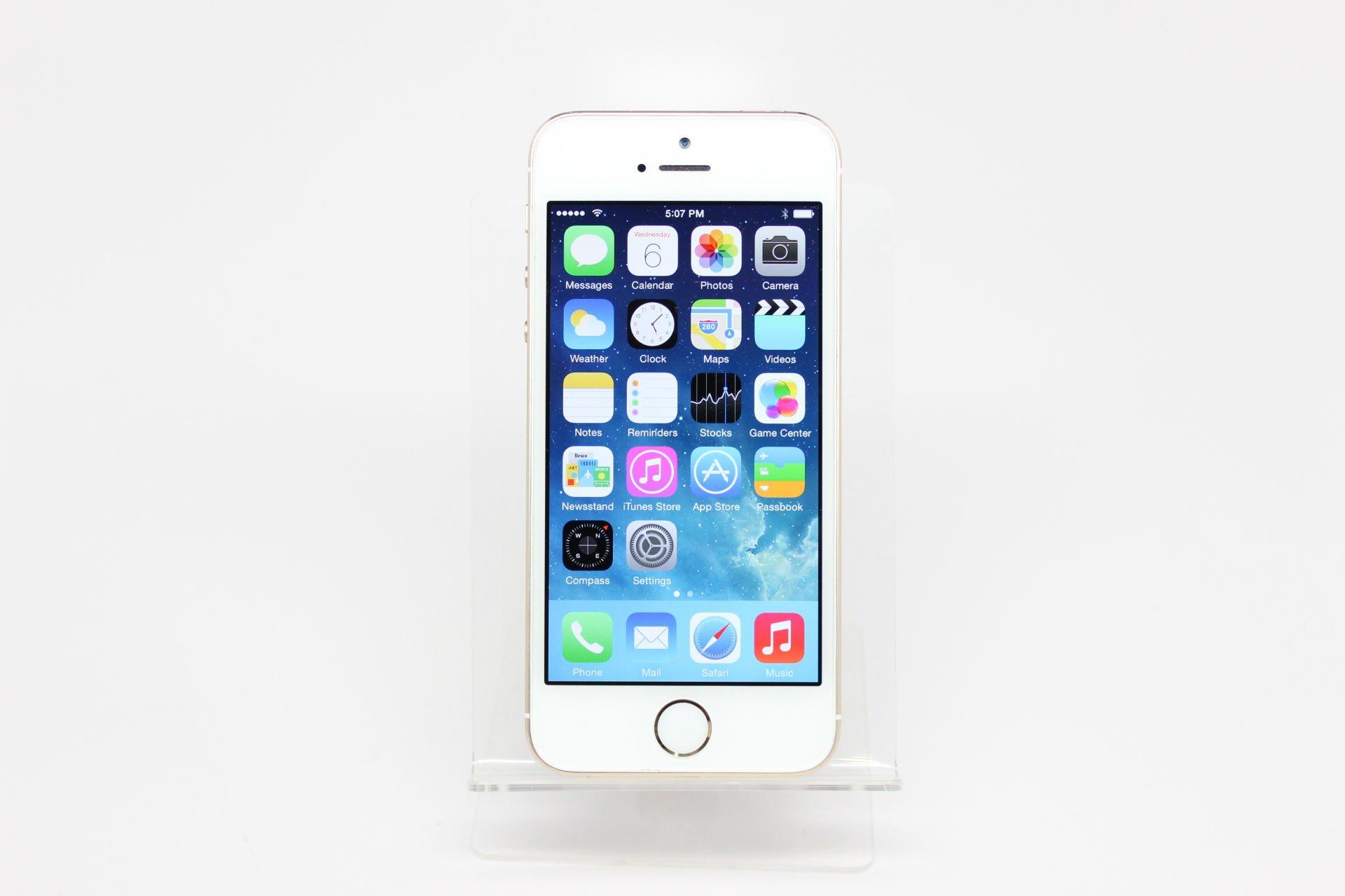 苹果手机5s图解