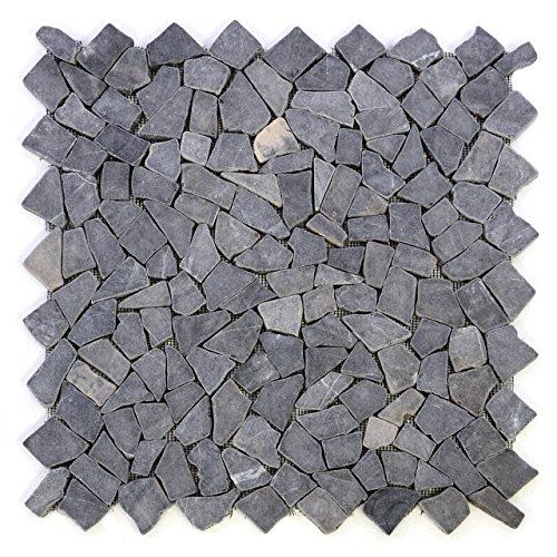 divero-4-grossformat-matten-53-x-53cm-marmor-naturstein-mosaik-fliesen-fur-wand-boden-bruchstein-gra