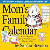 Mom's Family Calendar [With Magnetic Phone List]by Sandra Boynton