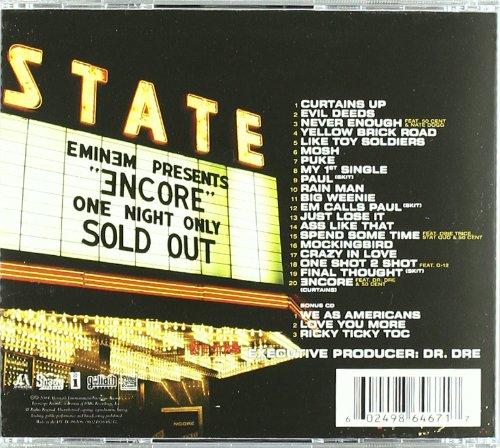 Eminem Album: «Encore (Deluxe Edition)»