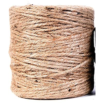 Koch Industries 5480303 Jute 3 Ply Light Twine, 200-Feet, Natural obtained from Koch Industries
