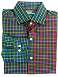 Man's Polo by Ralph Lauren Multi-Colored Plaid Long-Sleeved Shirt