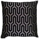 Van Ness Studio Moda Decorative Throw Pillow, Black