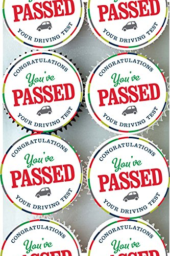 passed-driving-test-well-done-congratulations-cup-cake-cupcake-toppers-edible-rice-paper-icing-decor