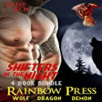 Shifters in the Night: 4 Book Bundle MM Gay PNR & First Time | Jane Fox