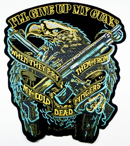 American Bald Eagle Patches Logo5 Us National Symbol Biker Jacket Vest Large Embroidered Patch