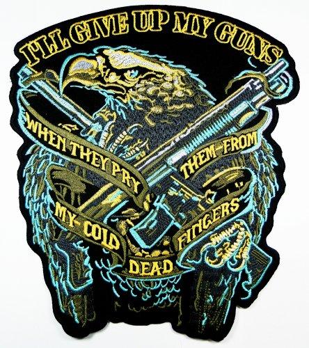 American Bald Eagle Patches Logo5 Us National Symbol Biker Jacket Vest Large Embroidered Patch