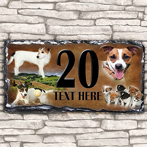 custom-jack-russell-dog-house-slate-personalised-pet-name-number-sign-30cm-x-15cm