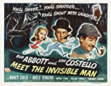 Abbott and Costello - Meet the Invisible Man - Postcard B - New