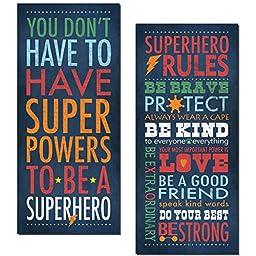 Superhero Rules Set by Stephanie Marrott; Two 8\