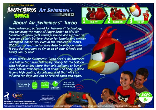 air swimmers instructional video