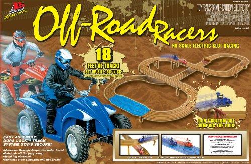 Life-Like Off-Road Racers ATV Electric Slot Car Race Set