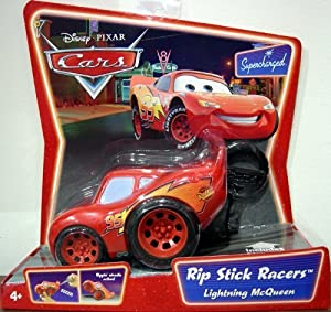 Amazon.com: Cars Rip Stick Racers: Lightning McQueen: Toys