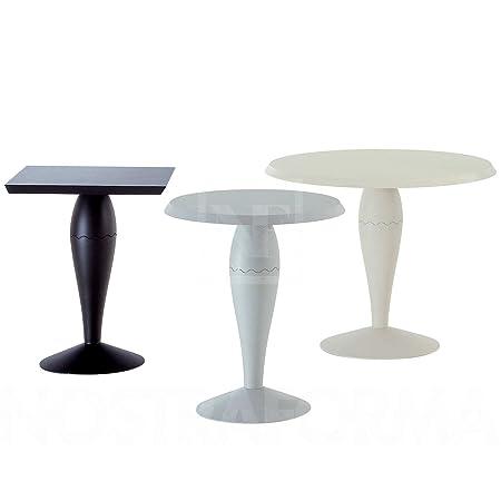 Mesa de centro de diseño redondo de Miss Baloo, negro, Größe 2 Ø90cm