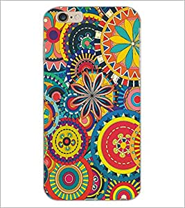 PrintDhaba Lion D-5138 Back Case Cover for APPLE IPHONE 6 (Multi-Coloured)