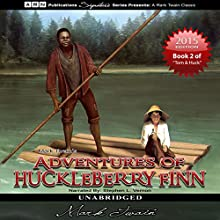 Adventures of Huckleberry Finn: Tom Sawyer & Huckleberry Finn Series, Book 2 (       UNABRIDGED) by Mark Twain Narrated by Stephen L. Vernon