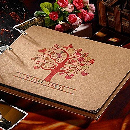 fotoalbum spiralalbum diy scrapbook designalbum mit bildausschnitt 60 seiten wunschbaum. Black Bedroom Furniture Sets. Home Design Ideas