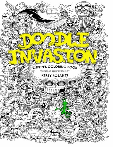 Download Free Doodle Invasion: Zifflin\'s Coloring Book Online Book ...