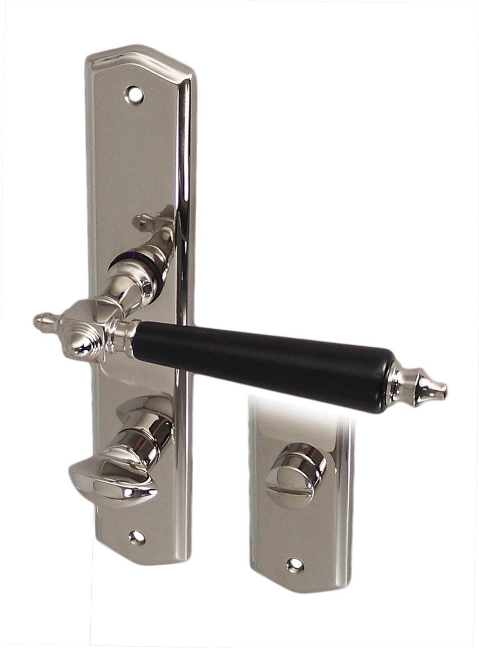 Türbeschlag Thor LS Edelstahl poliert Schwarz WC Drückergarnitur Türdrücker Türbeschläge NEU  BaumarktKritiken und weitere Informationen