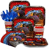 Monster Truck Party Supply Standard Kit (Serves 8 Guests)
